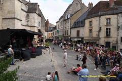 Rue du Pont, concert de Lady Roll The Good Rockin'Daddys